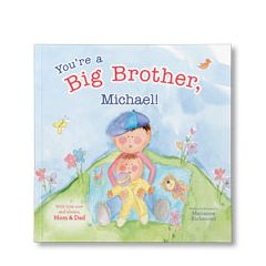 You're a Big Brother Personalized Paperback Book