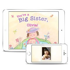 You're a Big Sister Personalized Downloadable eBook