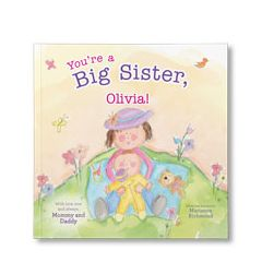 You're a Big Sister Personalized Paperback Book