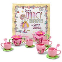 Fancy Nancy Complete Tea Party Gift Set