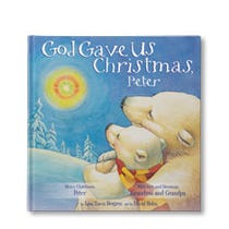 God Gave Us Christmas Personalized Book