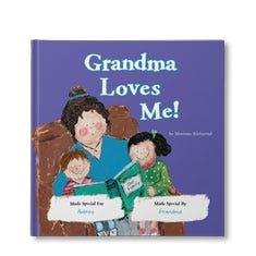 Grandma Loves Me Personalized Book