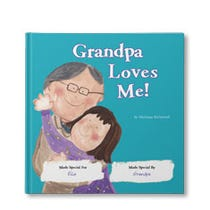 Grandpa Loves Me! Personalized Book