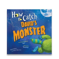 How to Catch Your Monster Personalized Paperback Book