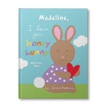 I Love You Honey Bunny Personalized Book