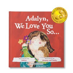 I Love You So Deluxe Edition Personalized Book
