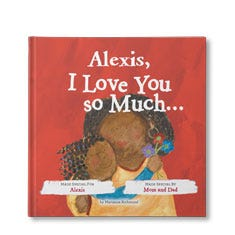 I Love You So Much Personalized Book