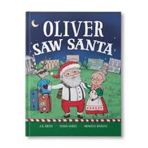 You Saw Santa Personalized Book
