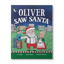 You Saw Santa Personalized Book