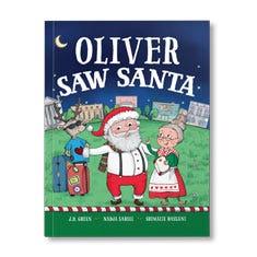 You Saw Santa Personalized Paperback Book