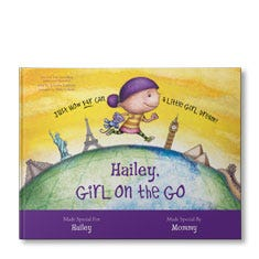 Isabella: Girl on the Go Personalized Book