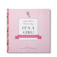 It's a Girl Personalized Book