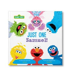 Sesame Street: Just One You Personalized Paperback Book