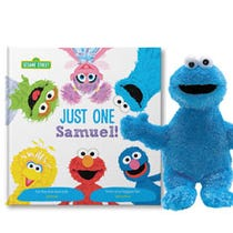 Sesame Street: Just One You Cookie Monster Gift Set
