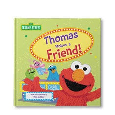 Sesame Street: Let's Make A Friend Personalized Book