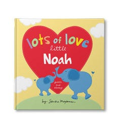 Lots of Love Little You Personalized Book