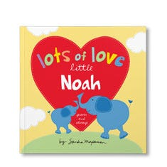 Lots of Love Little You Personalized Paperback Book