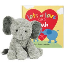 Lots of Love Little You and Cozy Elephant Plush Gift Set