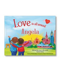 Love is All Around Personalized Book – Paperback Edition