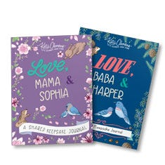 Love, (Grown-Up) and (Girl) Personalized Journal