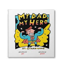 My Dad, My Hero Personalized Book