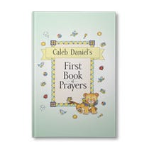 My First Book Of Prayers Personalized Book