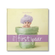Anne Geddes My First Year Personalized Baby Book