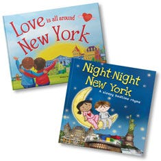 Love Is All Around New York and Night-Night New York Book Bundle