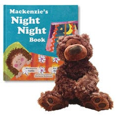 The Night Night Gift Set (For Girls)