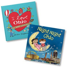 I Love Ohio and Night-Night Ohio Book Bundle