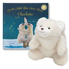On the Night You Were Born and Snuffles Polar Bear Gift Set