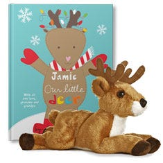 Our Little Deer and White Tailed Deer Plush Gift Set