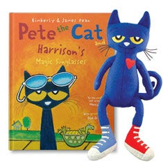 Pete the Cat and His Magic Sunglasses Gift Set