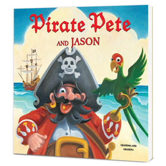 Pirate Pete – Paperback Edition