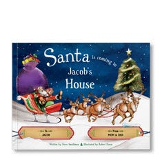Santa is Coming to My House Personalized Book