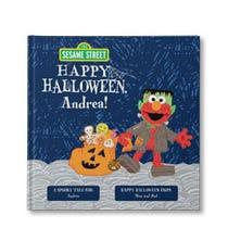 Sesame Street Happy Halloween Personalized Book