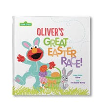 Sesame Street: The Great Easter Race Personalized Book
