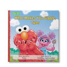 Sesame Street What Makes You Giggle Personalized Book
