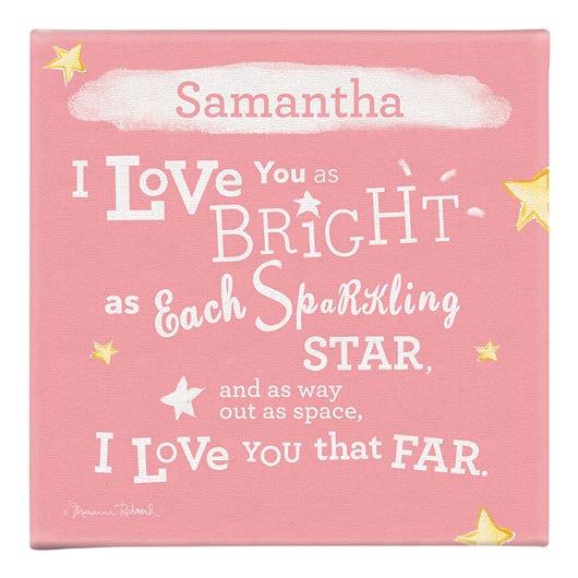 Sparkling Star Wall Art