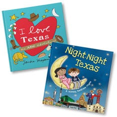 I Love Texas and Night-Night Texas Book Bundle
