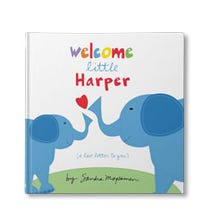 Welcome Little One Personalized Book