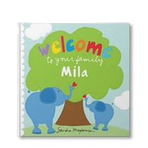 Welcome to Your Family Little One Personalized Hardcover Book