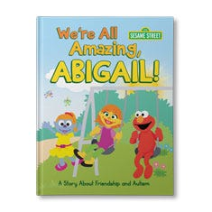 Sesame Street: We're All Amazing Personalized Book