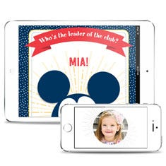 Disney's Who's the Leader of the Club? Personalized Downloadable eBook