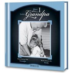 Why I Love Grandpa Personalized Book