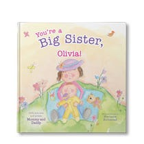 You're a Big Sister Personalized Book