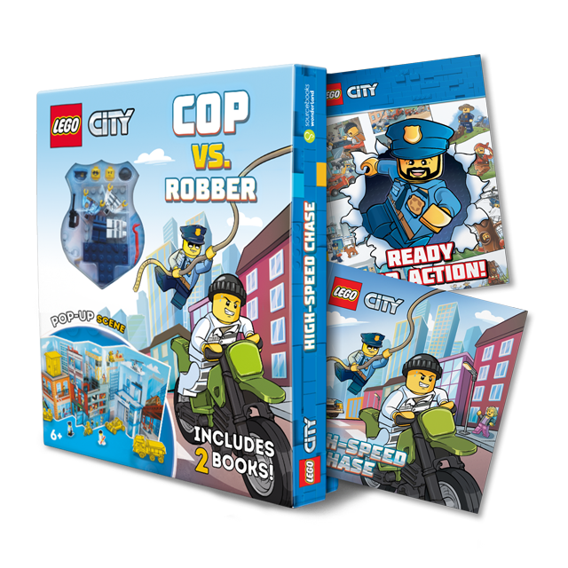 LEGO® CITY HIGH-SPEED CHASE: COP VS. ROBBER PLAY SET