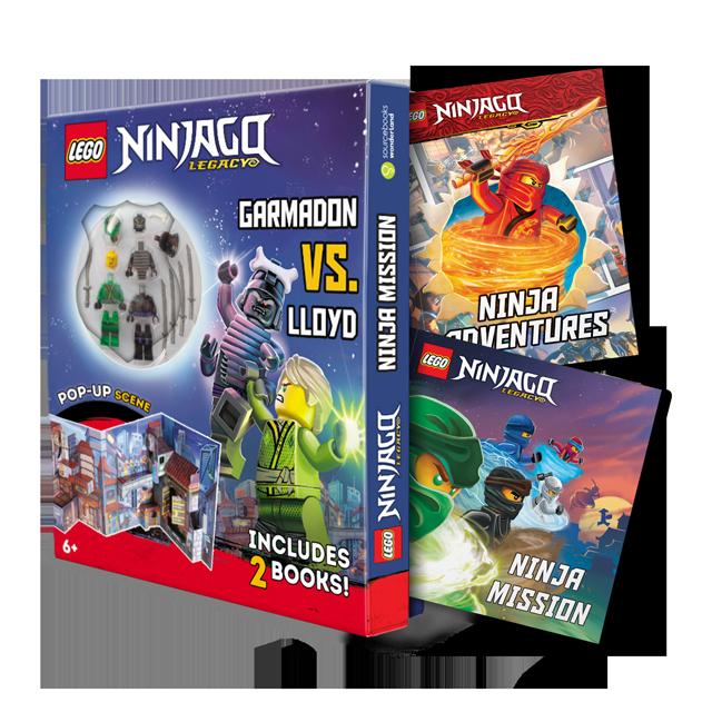 LEGO® NINJAGO® NINJA MISSION: GARMADON VS. LLOYD PLAY SET