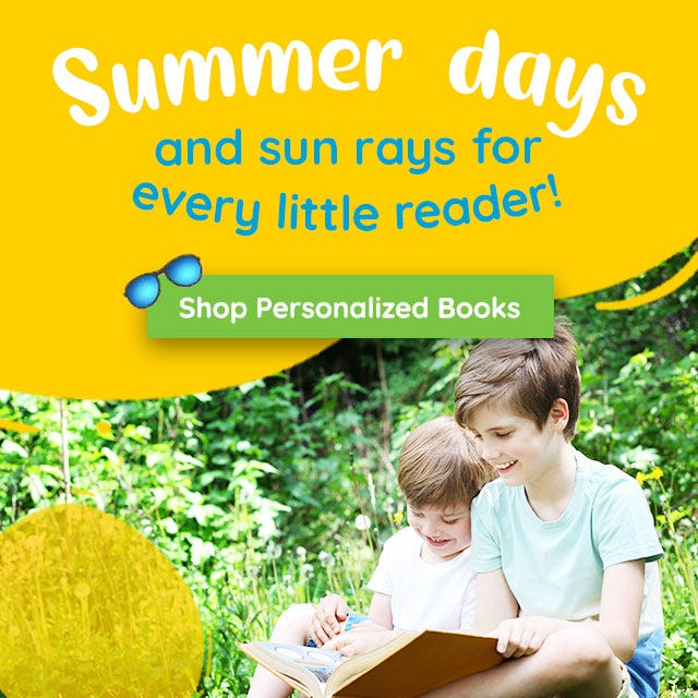 Personalized stories to enjoy all summer long