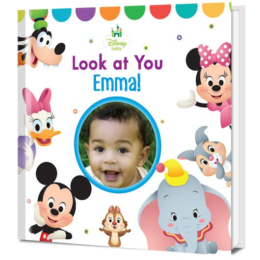 Disney Baby Look At You! Personalized Book
